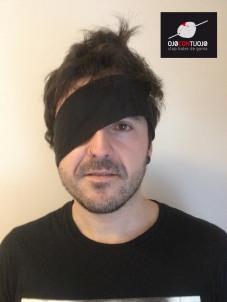 "Xavi Solano de ""Esnebeltza"" se une a la campaña Ojocontuojo"