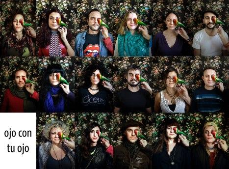 Almería con amor!! Tania Fábrega,Gema Gómiz, Casto Romero, Alex, Rocio Jimenez, Pili, Cecilia Huete, agueda saez, ángela, jose, belen y Rafael Manzano