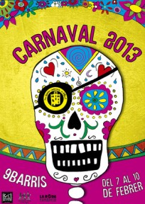 Cartel Carnaval de 9 Barris