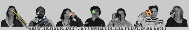 Grup Artístic Zô3, Coll, Barcelona - Decimos No a los proyectiles de goma!!!!!