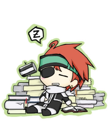 Lavi - D. Gray Man 8