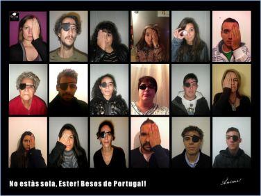 No estas sola! Ester Besos de Portugal