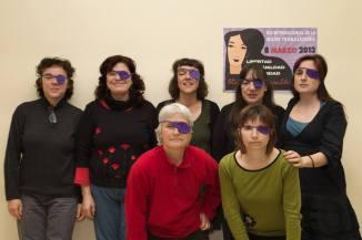 Tejiendo en Morado, colectivo de mujeres - Valladolid 2