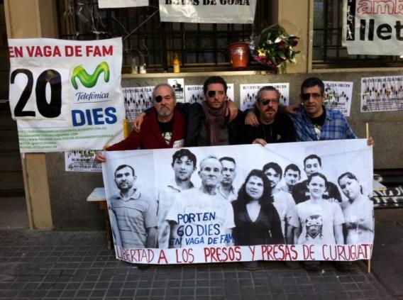 Vaguistes solidaris de Telefónica