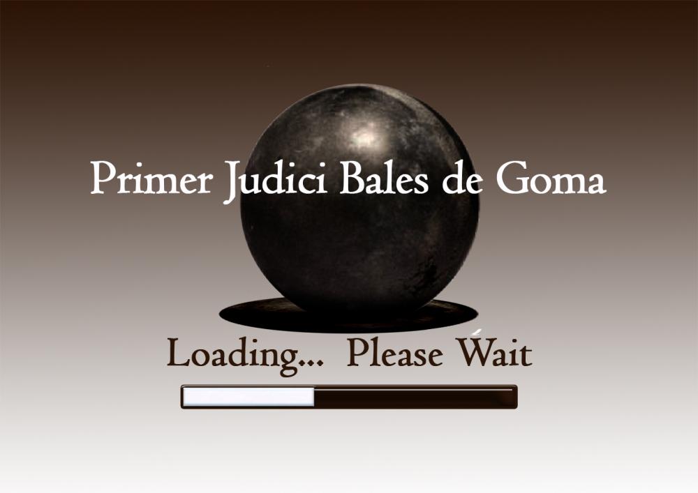 1er judici bales de goma 12x9
