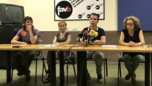 Roda de premsa StopBalesdeGoma i Ojocontuojo